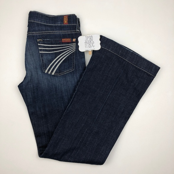 7 for all Mankind Denim - NWT 7 for all mankind dojo flare jean 26x31.5